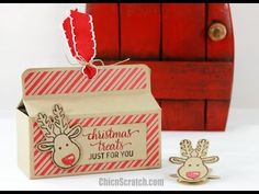 Frog Punch Art with Fox Builder Punch from Stampin'Up! - YouTube