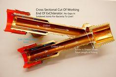 "Counterflow Wort Chiller | The ""ExChilerator"" Counterflow Wort Chiller | The ""ExChilerator"" (16' MINI or 25' MAX)"