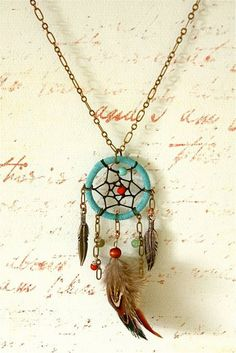 Recently obsessed with dreamcatchers. I really want some kind of dreamcatcher jewelry now