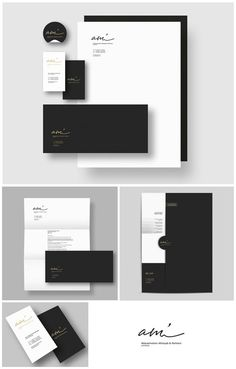 New design branding identity business color palettes ideas Corporate Design, Corporate Stationary, Stationary Branding, Stationary Design, Corporate Branding, Business Card Design, Identity Branding, Branding Companies, Stationary Printable