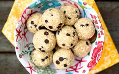 Vegan Cookie Dough Truffles (Gluten Free, Oil-Free)    |     Save and organize recipes from anywhere on your iPhone or iPad with @RecipeTin – without typing them in! Find out more here: www.recipetinapp.com      #recipes #vegan