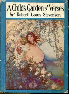 A Child's Garden of Verses Robert Louis Stevenson Ruth Mary Hallock Illustration |