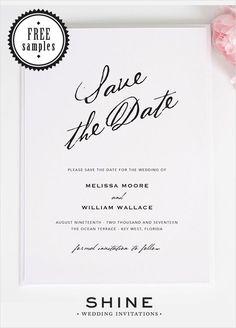 option for brunch menu modern wedding invitations by shine wedding invitations that are super stylish and ooze modern elegance