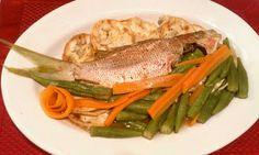 Lisa's Tasti Delight: Jamaica Steamed Fish & Okra