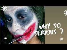Why so serious son | The Joker Makeup Halloween 2019 | Chermel's World - YouTube