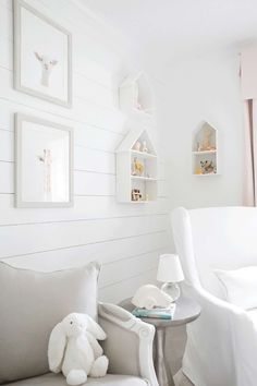 how to install shiplap in a baby nursery
