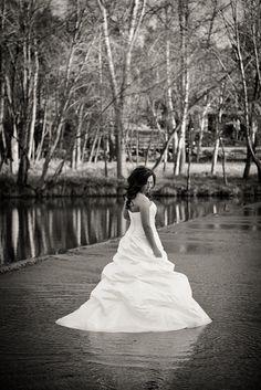 trash the dress black and white