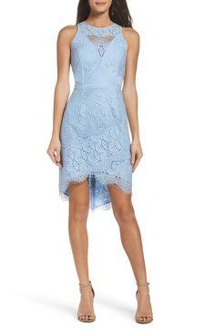 3ac163725c44c New Adelyn Rae Lace High Low Sheath Dress