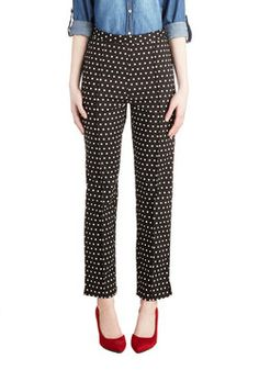 The Sweet Life Pants in Dots, #ModCloth