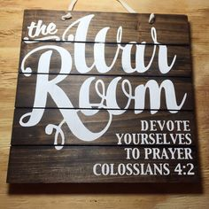War Room Sign Wood Sign Pallet Sign Prayer by brownpaperpackaging Prayer Signs, Prayer Wall, Prayer Room, Prayer Board, My Prayer, Prayer Ideas, Power Of Prayer, Christian Decor, Christian Wall Art