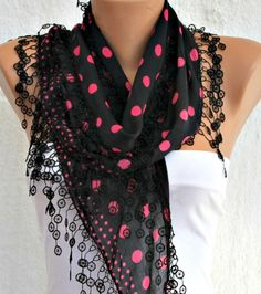 Multicolor Scarf - By Fatwoman, $15.00