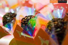 Brigadeiros gourmet da Glacê e FORMINHAS com borboletas da Santa Forminha