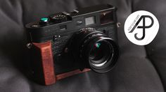 Homegrown Wood Grip for Leica M. - YouTube