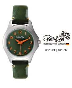 HITCHIN BB010B  | Meterail:316L Stainless Steel  | Movement: MIYOTA 2035  | Case Size: 26mm  | Band Size: 12mm  | Band: Enamel coated Genuine Leather  | Glass: Hardened Mineral Crystal  | Water Resistance : 3 ATM