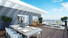 Resultado de imagen de outdoor penthouse