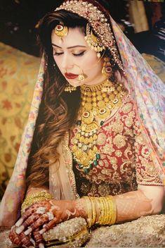 Wedding Makeover, Indian Bridal Makeup, Basic Makeup, Pakistani Bridal Dresses, Celebrity Makeup, Bollywood Celebrities, Lip Makeup, Saree, Bride