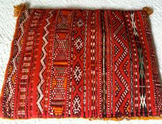 #Moroccan #PILLOW #COVER #BERBER #Tribal #Ethnic #African #Eclectic Decor