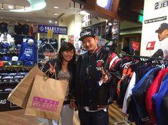 【大阪店】2014.11.23 カップルでご来店頂きました!一目惚れのヒートのジャケットがかっこいいですね!またお待ちしてま~す!