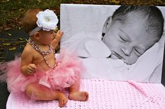 first birthday photo ideas. rustic baby pictures. simple girl photo shoot