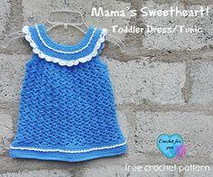 letsjustgethooking : FREE PATTERN Mama's Sweetheart!dressDISCLAIMER F...