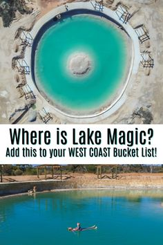 Where is Lake Magic? When Lap it Up posted a photo of this magic lake, we wanted to know where it was and if it was worth the visit. Perth Western Australia, Australia Map, Visit Australia, Places To Travel, Places To See, Australian Road Trip, Australia Travel Guide, Holiday Places, Travel Tours
