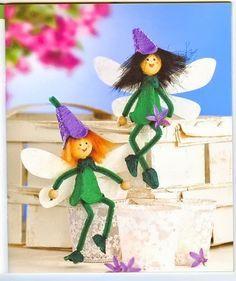 poppetje knutselen van een eierdoos, met kleuters Sea Crafts, Fairy Crafts, Preschool Crafts, Easter Crafts, Egg Box Craft, Spring Decoration, Art For Kids, Crafts For Kids, Egg Carton Crafts