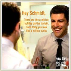 Schmidt Quotes. New Girl Season 2 #newgirl