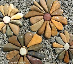 Land art-stone flowers in hungary by tamas kanya by tom-tom1969 on DeviantArt