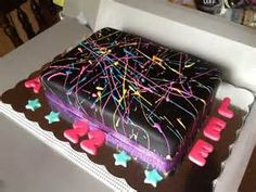 Splatter Cake — Birthday Cakes