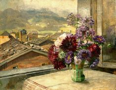 The Athenaeum - Flower Piece (Marie Egner - )