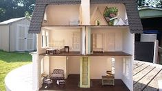 Yes OK, I know I have too many dollhouse's. LOL  This is my fairfield , it was given to me by a member at the GreenLeaf  Dollhouse Forum. Wh...