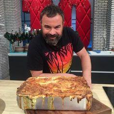 Λαζάνια με σπανάκι και φέτα! Cooking Recipes, Healthy Recipes, Healthy Food, Greek Dishes, Spinach And Feta, Greek Recipes, Pasta Dishes, Soul Food, Food Hacks