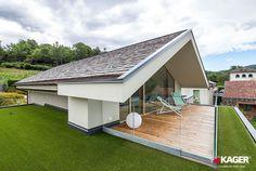Guarda il servizio fotografico della nuova realizzazione Kager Italia. Casa in legno a Novara in classe A+, no gas, finiture di pregio e cura nei dettagli.