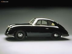1948 Porsche 356 Coupe, the fist Porsche ever...