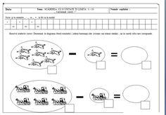 fise matematica dificultate ridicata 5-7 ani | Cu Alex la gradinita Math For Kids, Coloring Pages, Periodic Table, Math Equations, Education, Books, Human Body, Quote Coloring Pages, Periodic Table Chart
