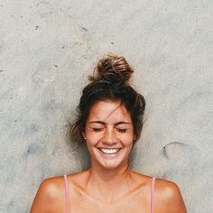 Beach bun. | Source: undopped | Pinned via sheslikeaghost