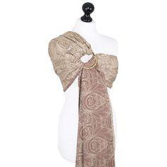 Fidella baby wrap  Gloria -bronze- Ring Sling  https://fidella.org/en/fidella-baby-wrap-limited-edition-gloria-bronze-ring-sling
