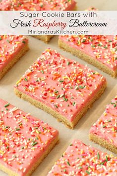 ... And Cream, Chocolate Cream Cheese Frosting and Sugar Cookie Bars