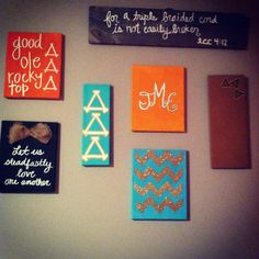 big/little canvas ideas.  Like the one in the middle that is up and down, but do with delta xi omega. :)