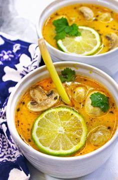 Tom Kha Gai (Thai Chicken Coconut Soup)