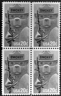 USA 20 cents Smokey the Bear