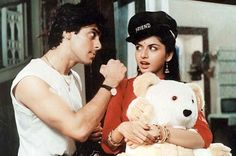 SK Leading Ladies::: It would be unfair not to mention Salman Khan's leading lady from his first solo-hero blockbuster film 'Maine Pyaar Kiya'. Bhagyashree played the traditional girl next door and Salman Khan was our new age angry young man - theirs was a love story which gave many young lover jitters! From dialogues like 'Dosti ka usool hai…' to their cute talks of 'tum bore to nahi ho rahi' everything was just perfect about the pairing of Suman (Bhagyashree) and Prem (Salman Khan).