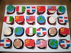 Divine Cakes by Janice: Trip Around The World Theme