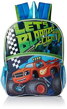Blaze 16 Light Up Backpack Lets Blaaze -- Details can be found by clicking  on the image. c276703a02