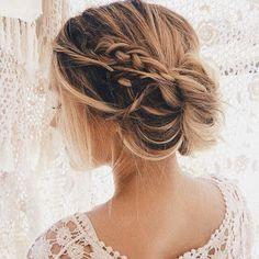 La moda en tu cabello: Peinados recogidos despeinados 2016