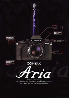 CONTAX Aria catalog