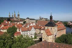 Town of Bamberg From the 10th century onwards, this town became an important link with the Slav peoples