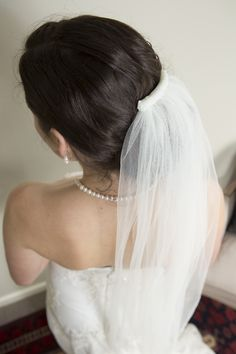 Beaded veil by Sophie Voon Bridal Sophie Voon wedding dresses lovingly designed and crafted in our Wellington, New Zealand workroom. Bridal Wedding Dresses, Veil, Beautiful, Design, Wedding Dressses, Peplum, Design Comics, Veils