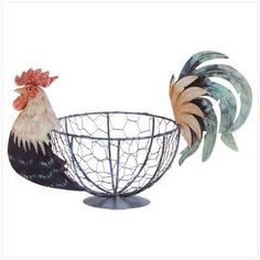 Image detail for -rooster kitchen decor bowl