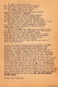 Typewriter Series #268 by Tyler Knott Gregson